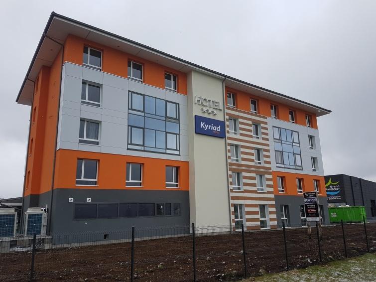 CONSTRUCTION D'UN HOTEL KYRIAD 3* à PONTARLIER