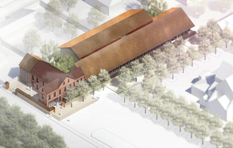 CONSTRUCTION DE LA MAISON DE QUARTIER DE NAVARRE À EVREUX