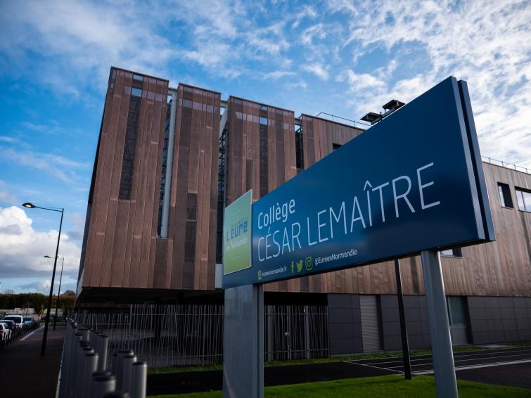 RECONSTRUCTION DU COLLÈGE CÉSAR LEMAÎTRE À VERNON