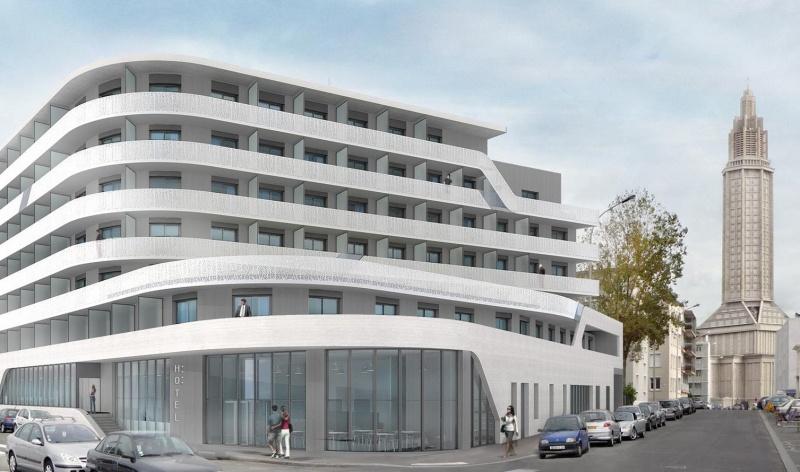 CONSTRUCTION D'UN HOTEL DE 106 CHAMBRES ET D'UN PARKING SOUTERRAIN AU HAVRE