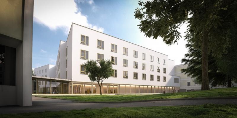 CONSTRUCTION D'UN HÉBERGEMENT POUR PERSONNES ÂGÉES SUR LE SITE CHÂTEAU MICHEL AU CENTRE HOSPITALIER DE DIEPPE