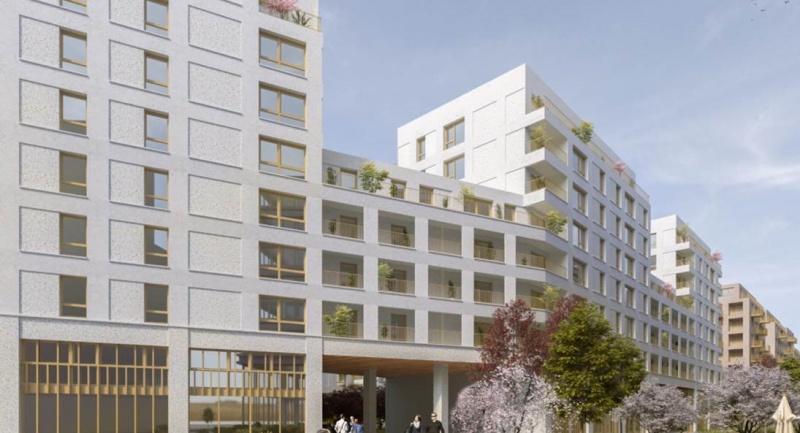 CONSTRUCTION DE 70 LOGEMENTS REPARTIS SUR  2 HALLS À ROUEN