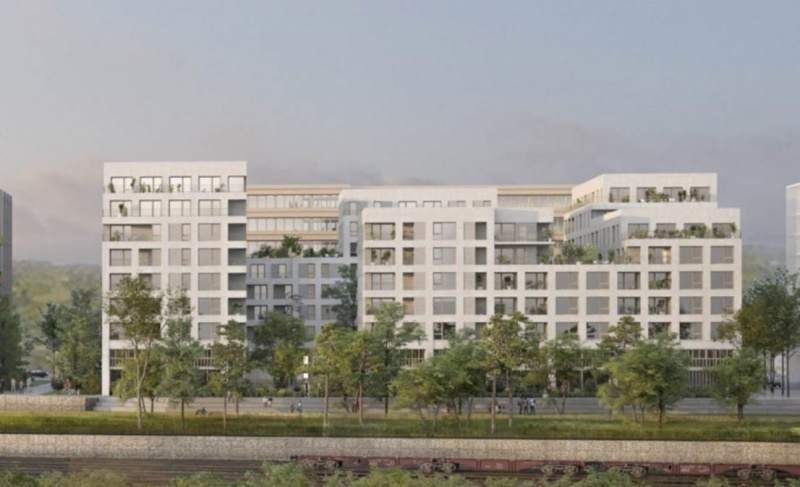 CONSTRUCTION D'UNE RÉSIDENCE AVEC SERVICES POUR SENIORS DE 92 LOGEMENTS À ROUEN