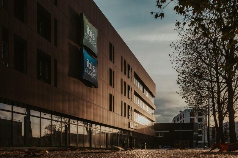 CONSTRUCTION D'UN COMBO IBIS STYLES ET IBIS BUDGET À ROUEN