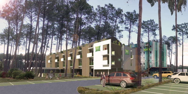 CONSTRUCTION D'UN HOTEL IBIS STYLES À GUJAN MESTRAS