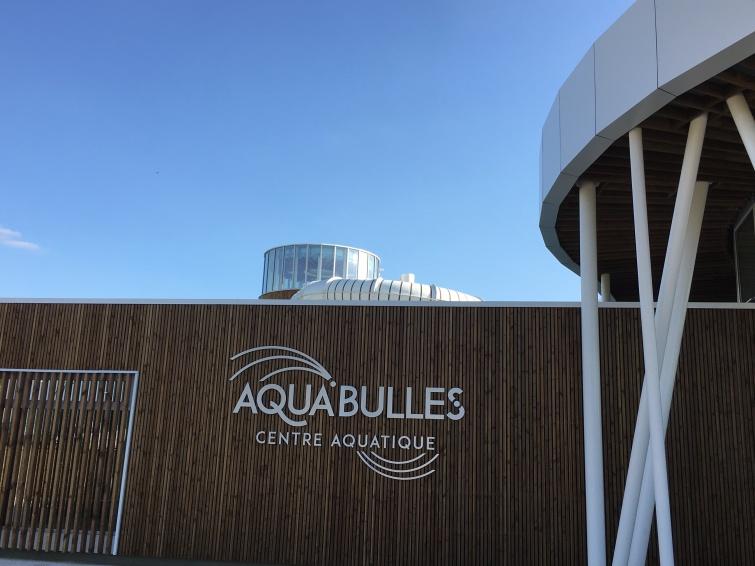 CONSTRUCTION D'UN CENTRE AQUATIQUE À SAINT FULGENT