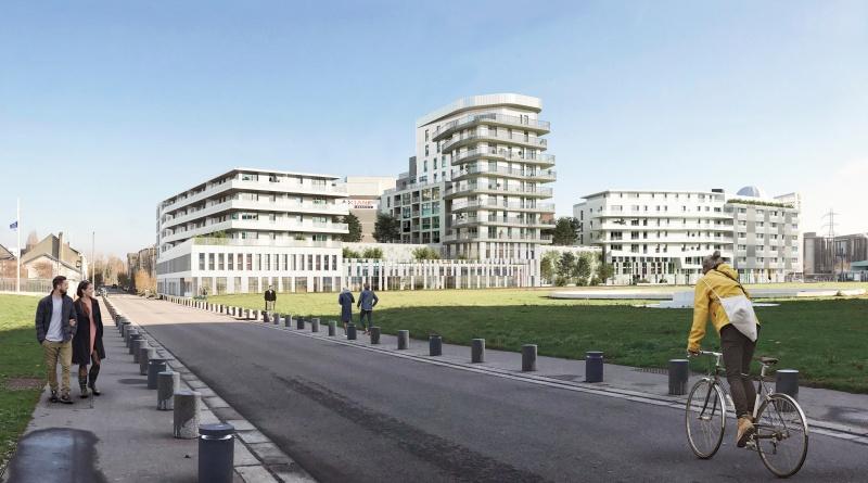 CONSTRUCTION D'UN ENSEMBLE IMMOBILIER À CAEN