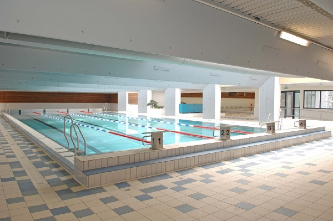 restructuration et extension de la piscine a ezanville